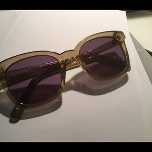 Grey Sparkly Glitter Sunglasses